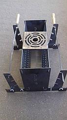 Вертикальний мангал на 6 шампурів 2 мм
