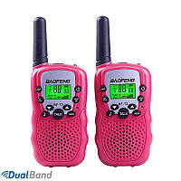 Рация Baofeng BF-T3 (Baofeng T3) Портативная радиостанция Baofeng 2 шт Pink