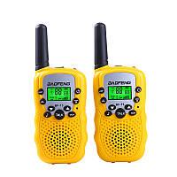 Рация Baofeng BF-T3 (Baofeng T3) Портативная радиостанция Baofeng 2 шт Yellow