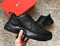 Мужские кроссовки Nike monarch Full Black, фото 1