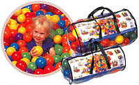 Шарики (мячики) для сухого бассейна intex 49602, 6.5 см (100 шт)