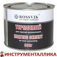 Клей для горячей вулканизации камер и шин 500 г Россвик Rossvik