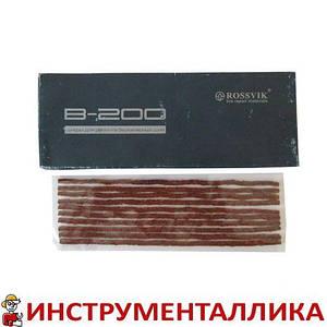Шнур жгут коричневый тонкий 200 мм Россвик Rossvik