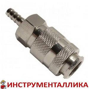 Быстроразъемное соединение мама - елочка на шланг 6мм PT-1801 Intertool