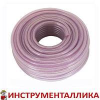 Шланг PVC высокого давления армированный 12мм x 50м PT-1743 Intertool цена за бухту