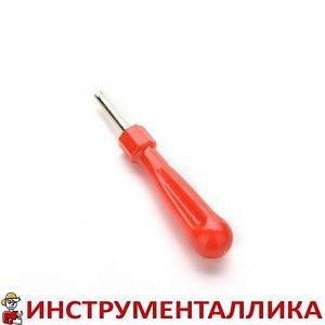 Отвертка для золотников односторонняя красная