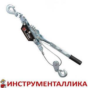 Лебедка механическая рычажная 2т двойное зубчатое колесо TRK8021 Torin