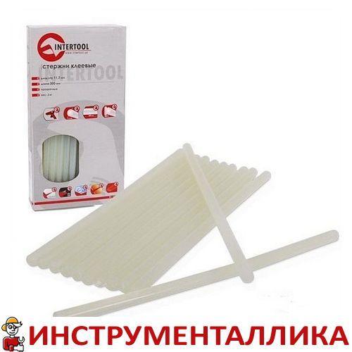 Комплект прозрачных клеевых стержней 11.2мм*300мм RT-1024 Intertool