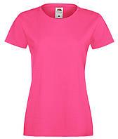 Малиновая женская футболка (Премиум)
