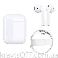 Беспроводные Bluetooth наушники Apple AirPods with Charging Case (MMEF2CH) (1602 5.0) ПОЛНАЯ КОПИЯ