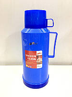 Вакуумний Термос зі скляною колбою DayDays 1,8 літра (синій)