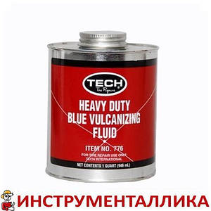 Вулканизационная жидкость HD 946 мл банка с кисточкой 776 Tech США