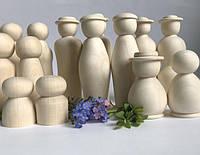 Заготовки дерев'яної ляльки