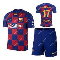 Футбольная форма детская Барселона 2019-2020 Гризманн Основная