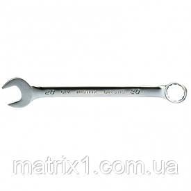 Ключ комбинированный 20 мм, CrV, матовый хром. MTX