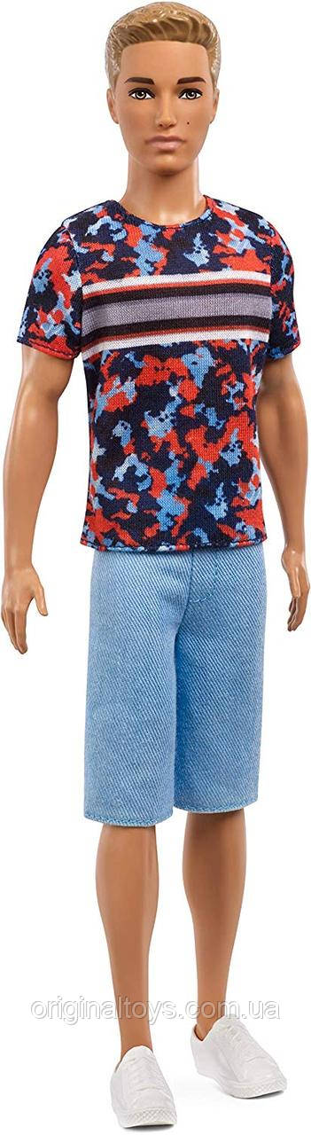 Кукла Барби Кен Модник 118 Barbie Fashionistas Hyper Print Ken Mattel FXL65