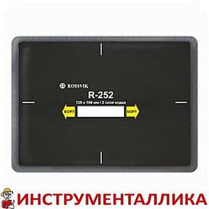 Радиальный пластырь R 252 125 х 166 мм 2 слоя корда Россвик Rossvik