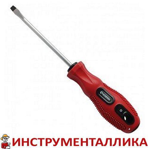 Отвертка шлицевая SL5 длина 200 мм VT-3110 Intertool