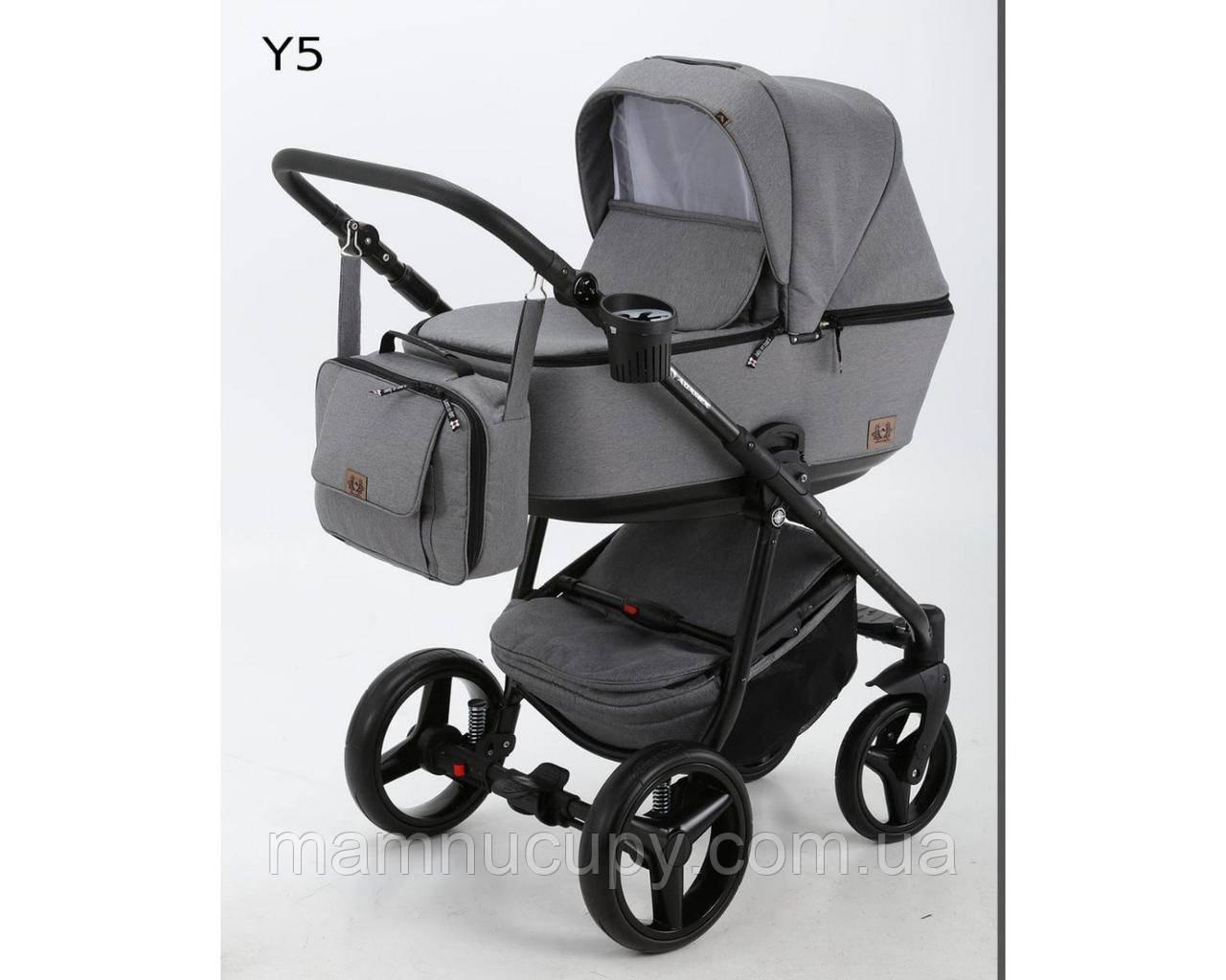 Универсальная коляска 2 в 1 Adamex Reggio Y5