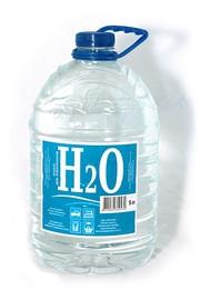 Вода дистилированная H2O 5L