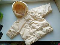 Куртка Coline для малышки крем