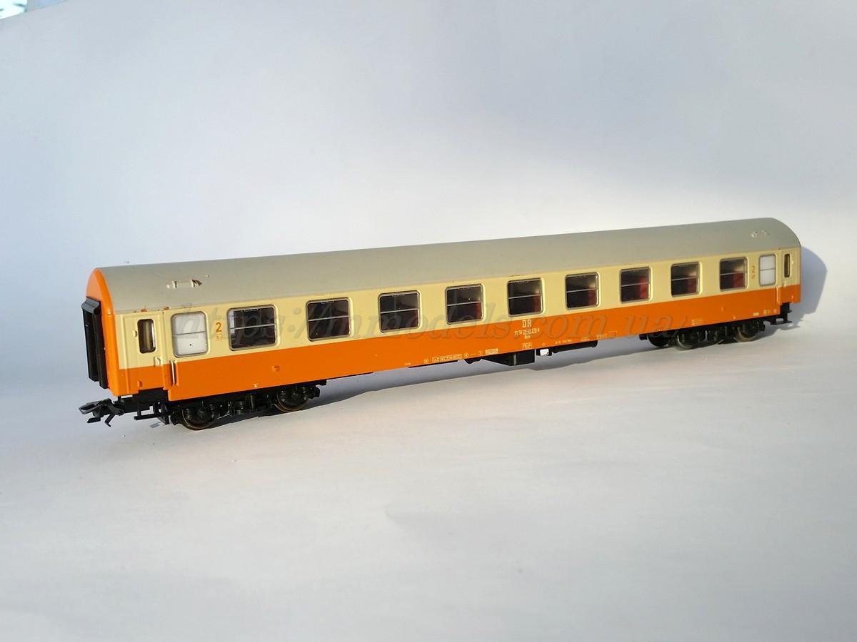 Sachsenmodelle Вагон пассажирский 2 класса,DR, габарита РИЦ (RIC) 1:87