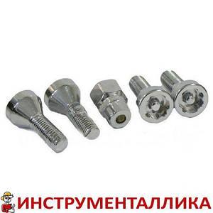Набор секреток колесных 12 x 21 шаг 1.5 5 предметов 645105 Force