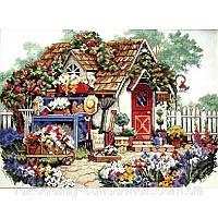 Набор для вышивания крестом Classic Design Садовый Домик