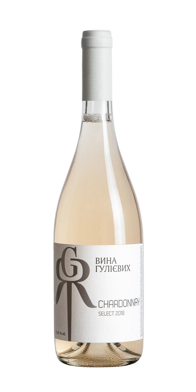 """Шардоне сухе біле """"Вина Гулієвих Select"""": продажа, цена в Одесі. вина от """"АнтиПиво"""" - 1040894526"""