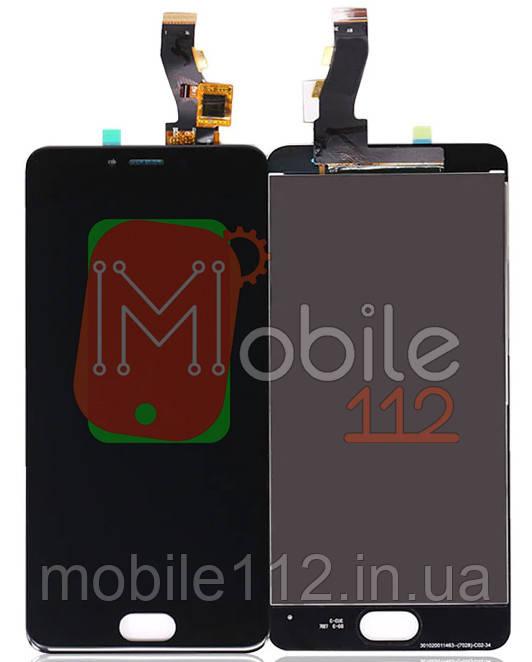 Модуль для Meizu M3s, Y685 (Дисплей + тачскрин), черный оригинал PRC