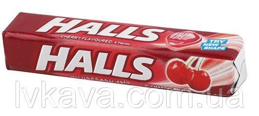 Леденцы  Halls со вкусом вишни , 25,2  гр