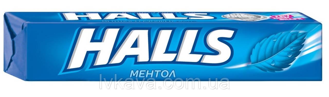 Леденцы  Halls со вкусом ментола , 25,2  гр
