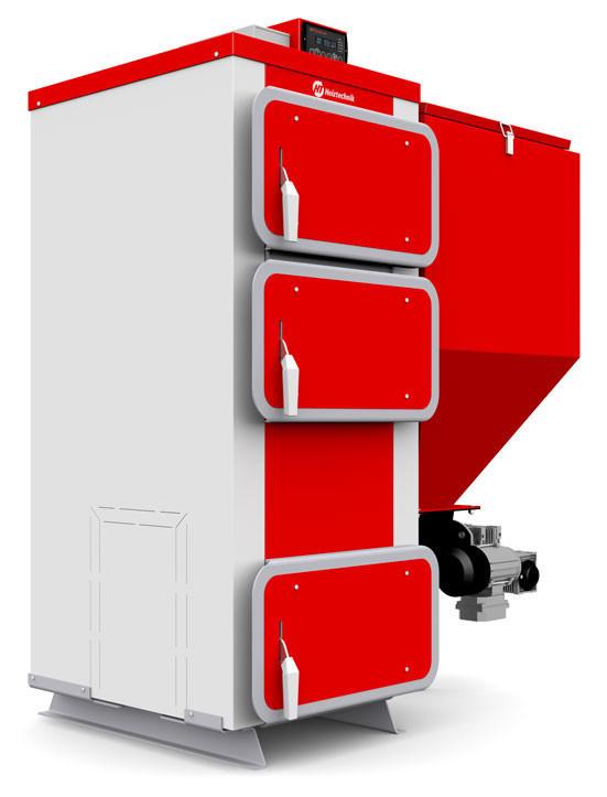 Твердотопливные котлы с автоматической подачей топлива Heiztechnik Q Eko 45 кВт (Польша)