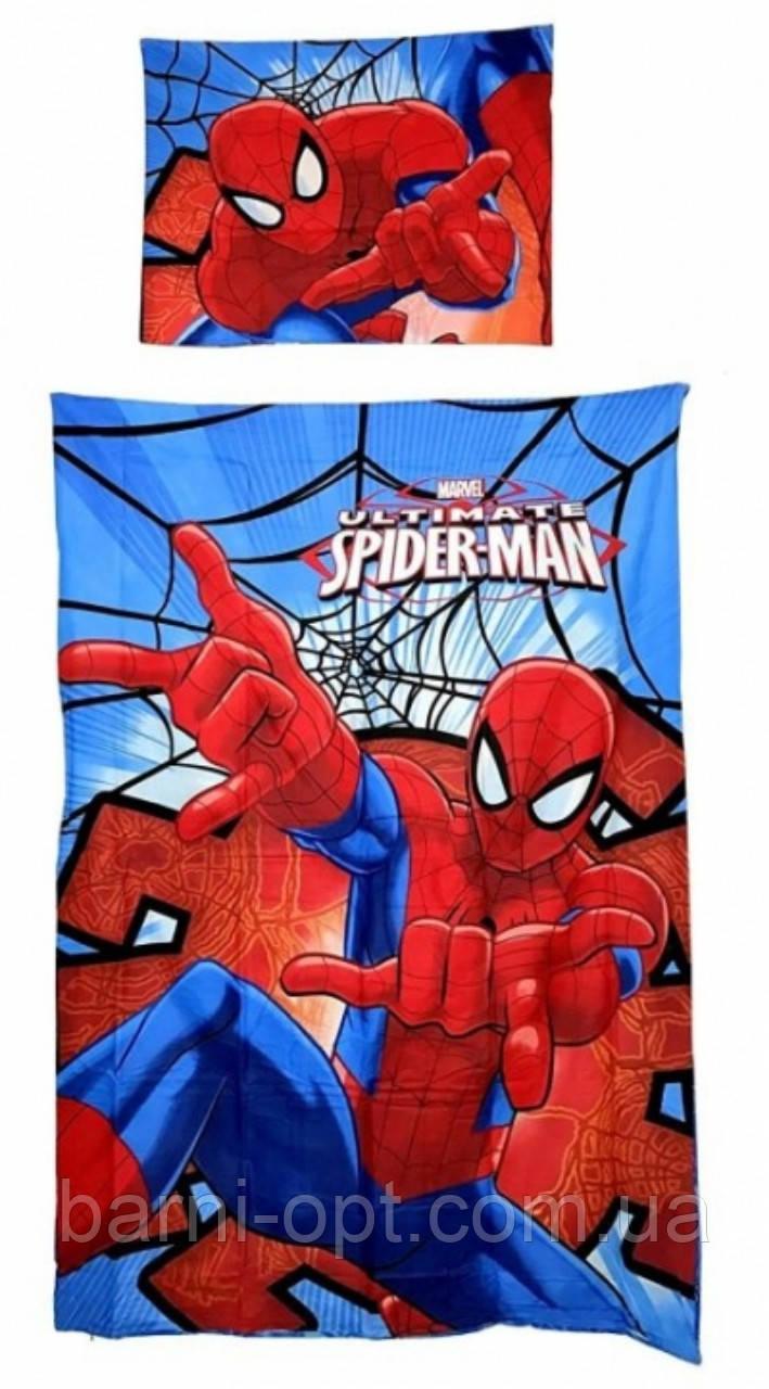 Постельное белье детские оптом Spider Man , 140*200, 70*90 см