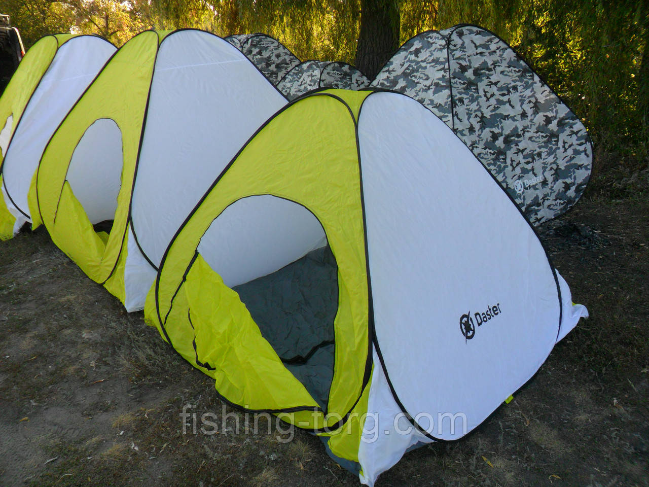 Палатка DASTER  230*230*170 автомат быстроустанавливаемая