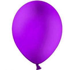 Повітряні кулі пастель Королівський фіолетовий 30 см BelBal Бельгія 5 шт