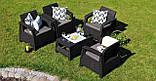 Комплект садових меблів Corfu Quattro, фото 3