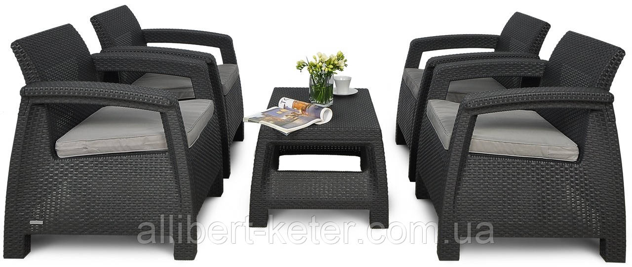 Комплект садовой мебели Corfu Quattro