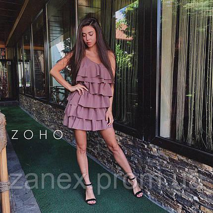 Платье Zanex «Елка», марсал, фото 2