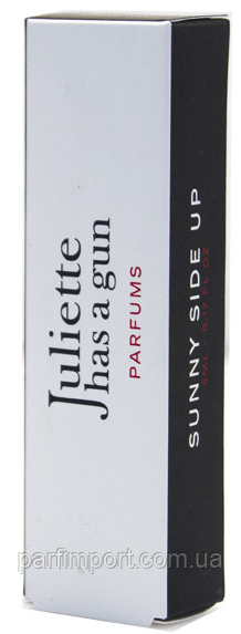 JULIETTE HAS A GUN SUNNY SIDE UP EDP 5 ml  парфюмированная вода женская (оригинал подлинник  )