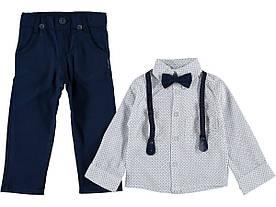 """Костюм нарядный для мальчика с подтяжками """"Смит"""" 3-4 года"""