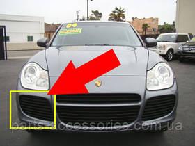 Porsche Cayenne 955 Turbo решетка в бампер левая новая оригинал