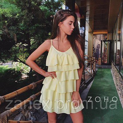 Платье Zanex «Елка», желтое, фото 2