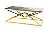 Журнальный столик Diamanto Gold Black 2 IH-072GB