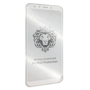 Защитное стекло DK-Case на весь экран для Meizu U20 face  (white)