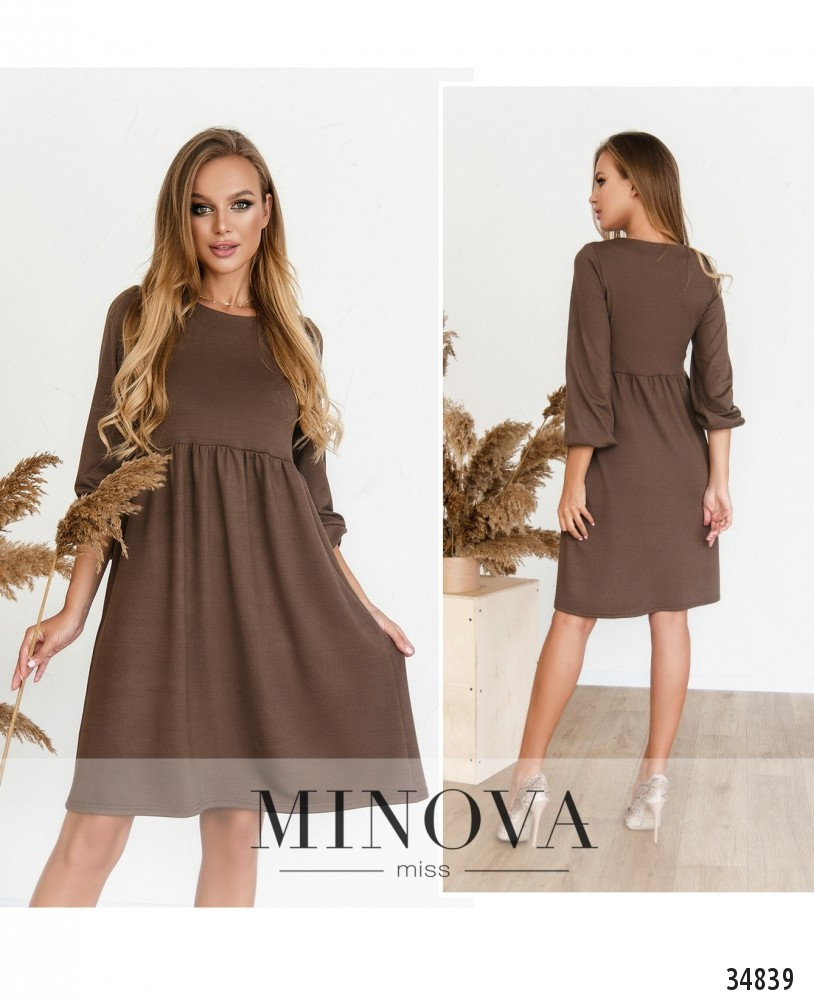 Платье №3129Н-мокко