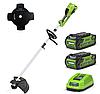 Тример акумуляторний GREENWORKS GR1301507UC