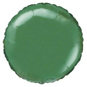 Фольгированный шар Ультра Круг 30см х 76см Зеленый