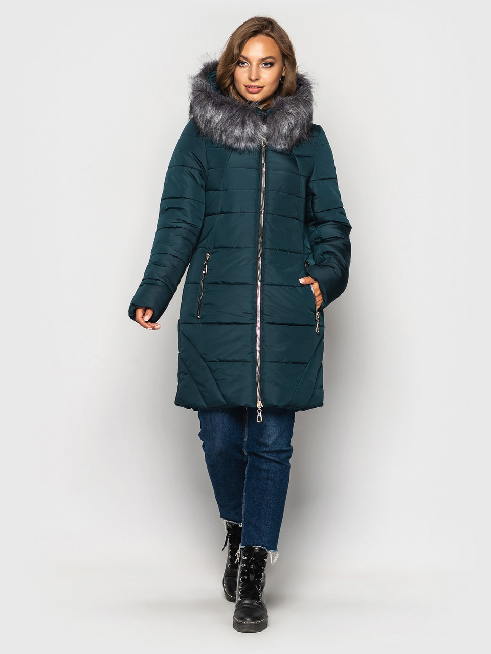 Куртка парка зимняя 77 ( 4 расцветки)