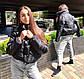 """Женская стильная короткая куртка на синтепоне 515 """"Стойка Кнопки"""" в расцветках, фото 4"""